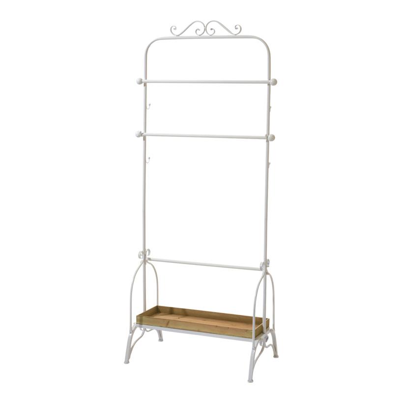 # Kleiderständer 190x81x48 cm Holz/Metall