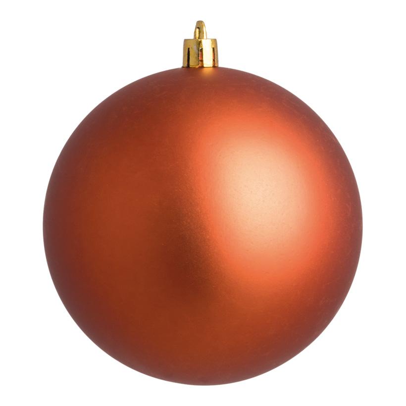 Weihnachtskugel, kupfer matt, Ø 6cm, 12 St./Blister
