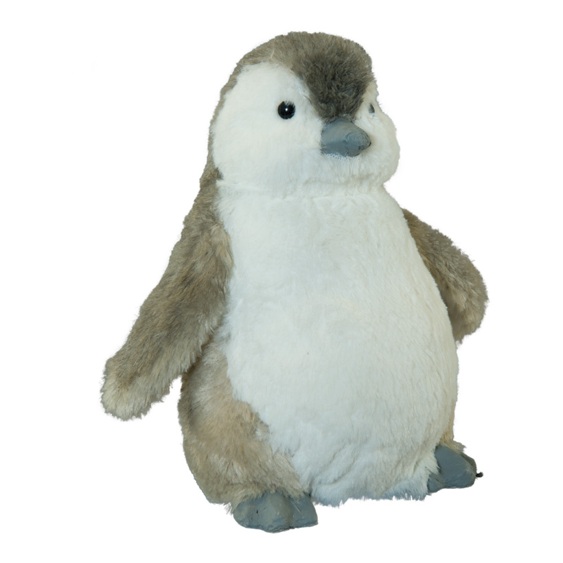 Pinguin, 25x26x15cm aus Styropor/Kunstfell