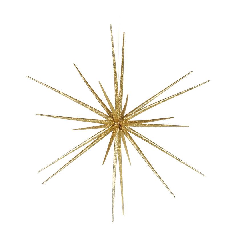 Sputnikstern, Ø 55cm, zum Zusammensetzen, aus Kunststoff, mit Glitter
