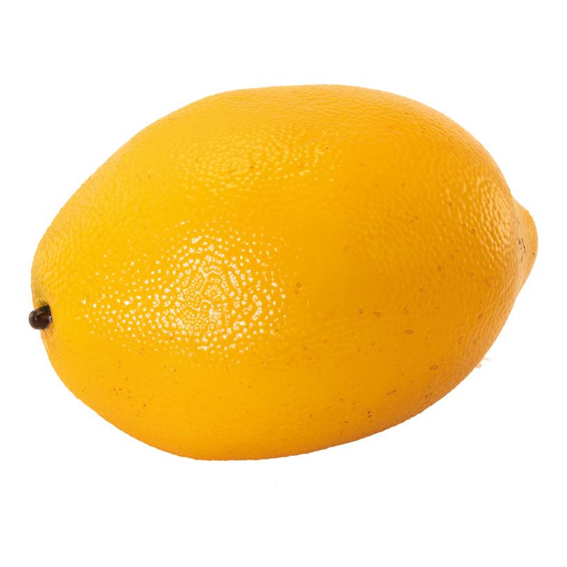 Zitrone, 10x7x7cm künstlich