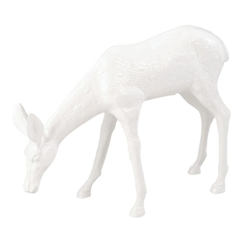 # Reh, äsend, 42x54x12cm, Kunstharz