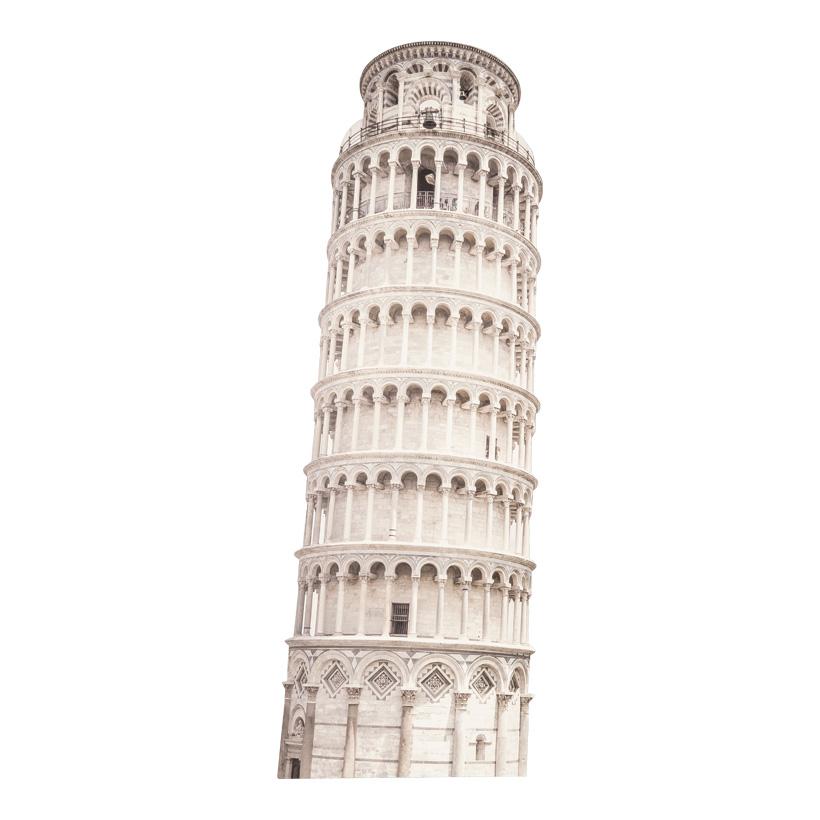 "Cut-Out ""Pisa"", 90x34cm Stütze rückseitig klappbar"