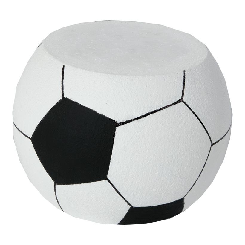 # Fußball Display 30x20cm, aus Styropor, schwer entflammbar