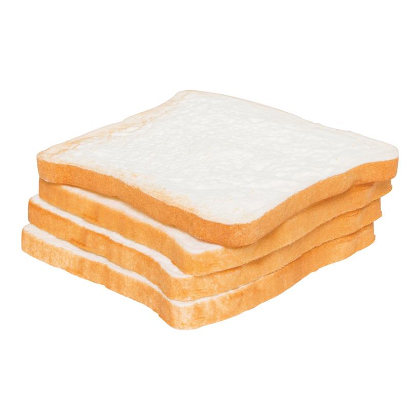 # Toastscheiben, 11x11cm, 4Stck./Btl., Kunststoff