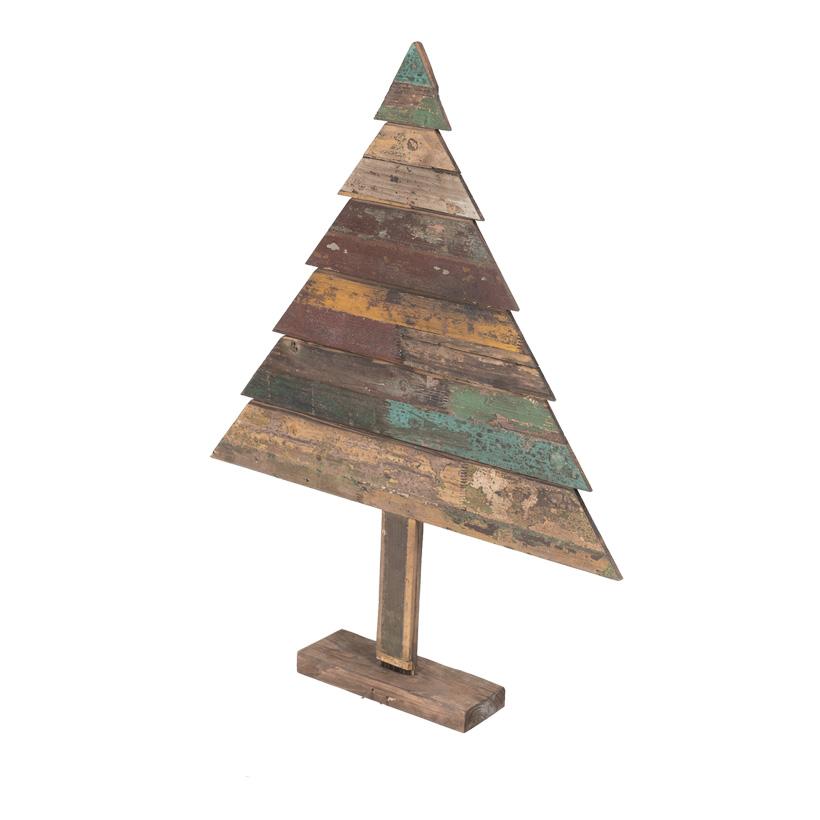 Deko-Holzbaum, 100x80cm tannenförmig