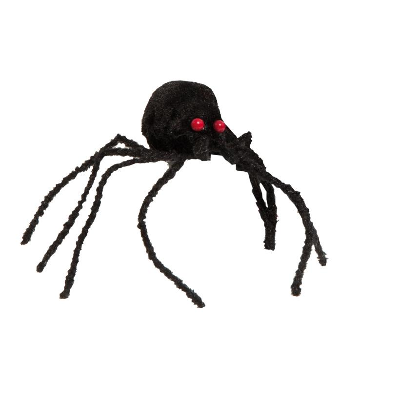 Spinnen, 11cm, 12Stck./Btl., Stoff