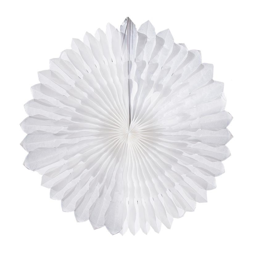 Schneeflocke, faltbar, Ø 70cm, Papier, mit Aufhängöse