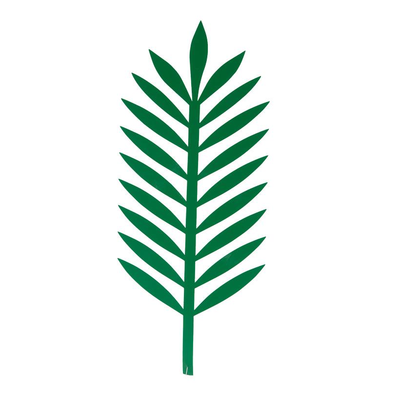 Palmblatt, Cut-Out, 43x18cm aus Kunststoff