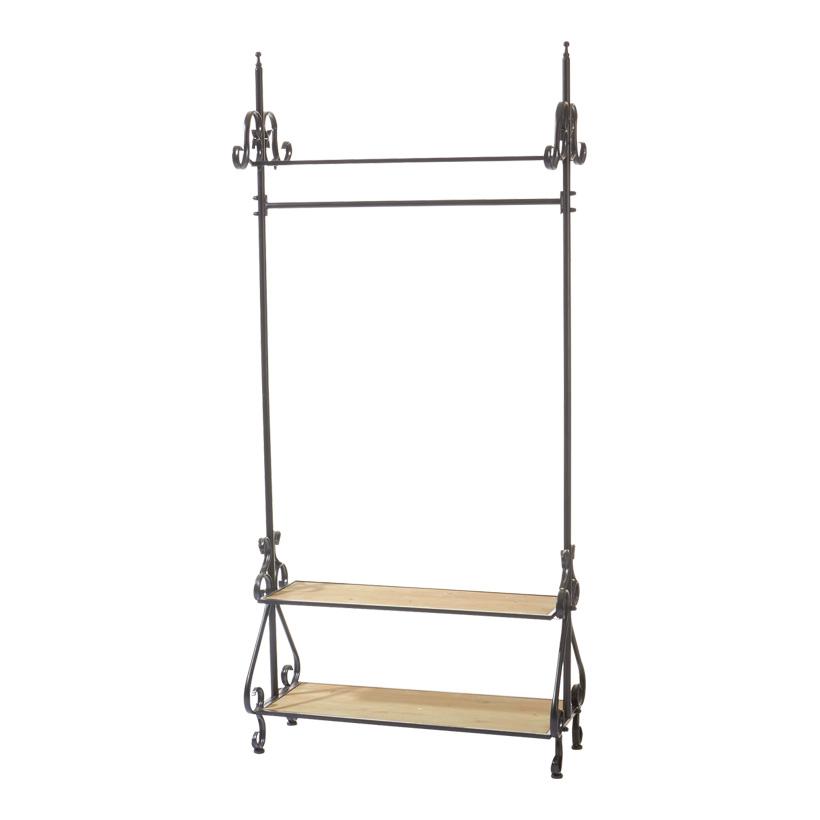# Garderobe 190x86x38 cm Holz/metall