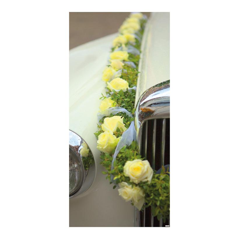 """# Motivdruck """"Hochzeit"""", 180x90cm Papier"""