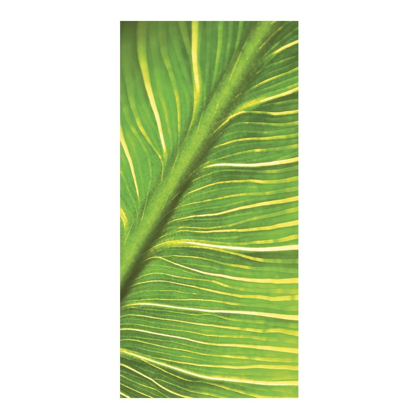 """# Motivdruck """"Elephant Leaf"""", 180x90cm Papier"""