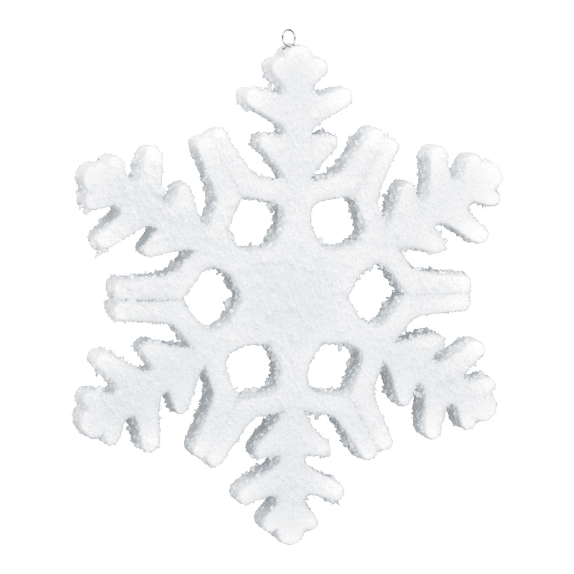 Schneeflocke, 40x40cm, Styrofoam