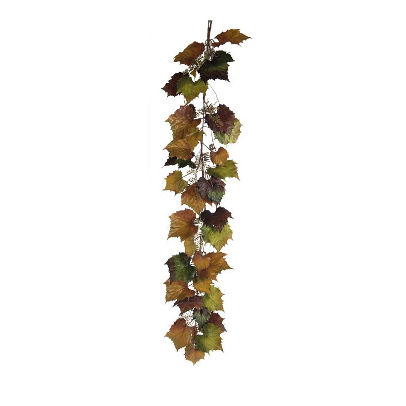 Weinlaubgirlande, 170cm dekoriert