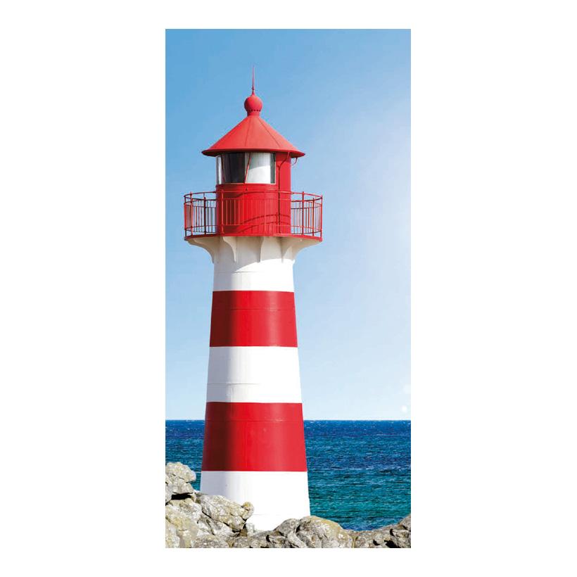 "# Motivdruck ""Leuchtturm"", 180x90cm Stoff"