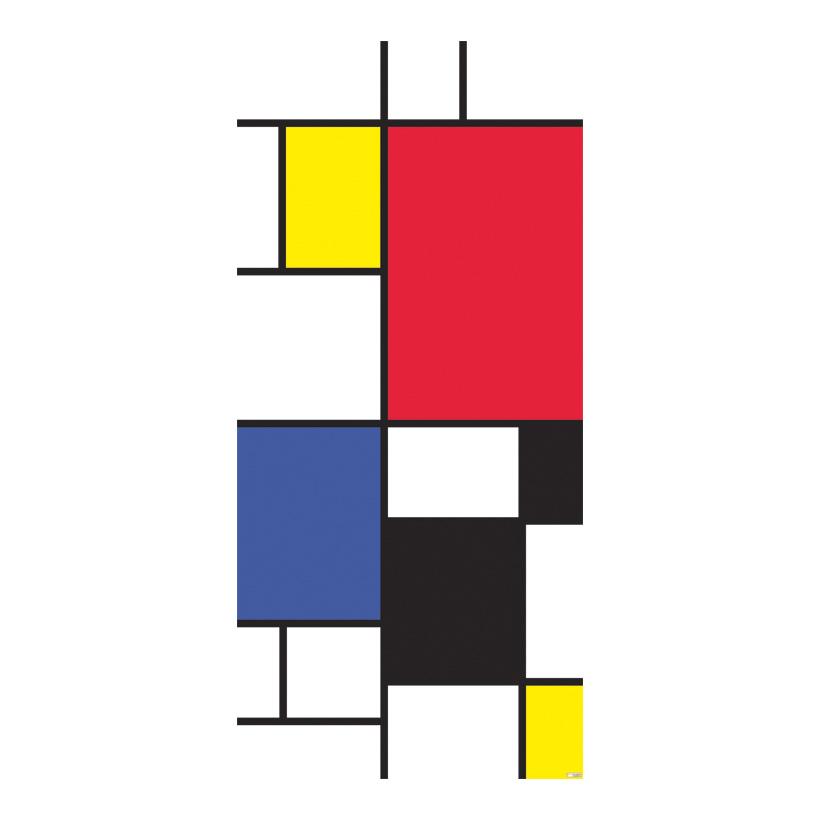 "# Motivdruck ""Mondrial"", 180x90cm Stoff"