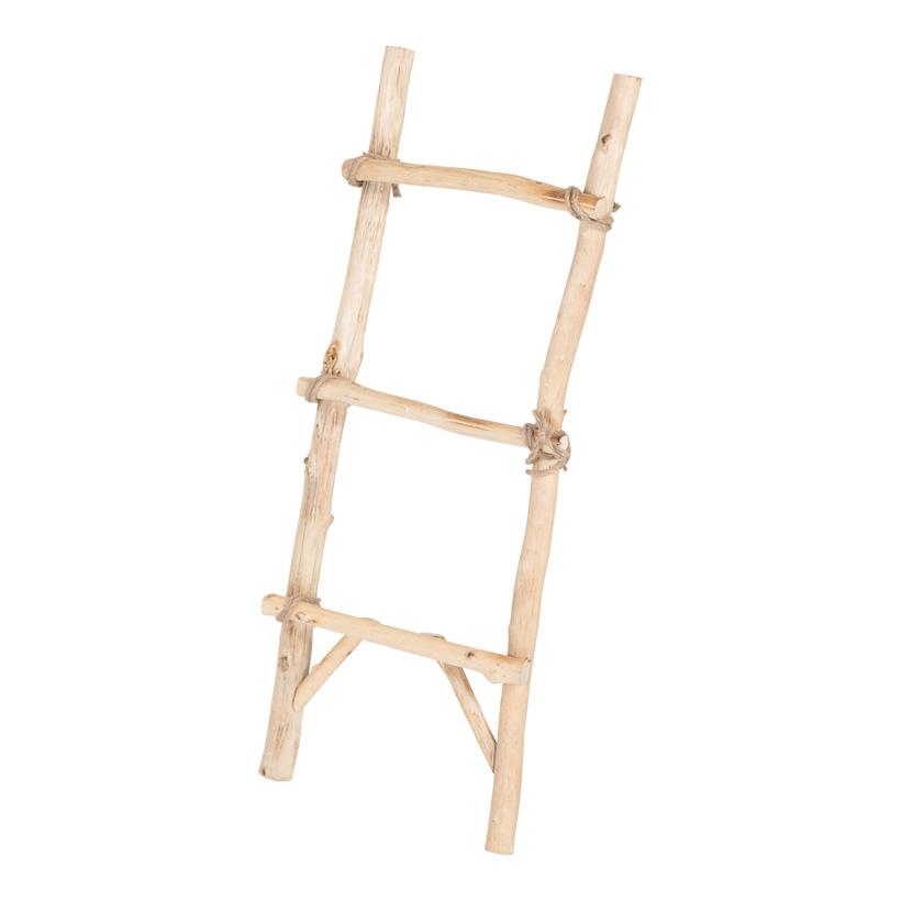 Holzleiter, 95x40cm mit 3 Sprossen