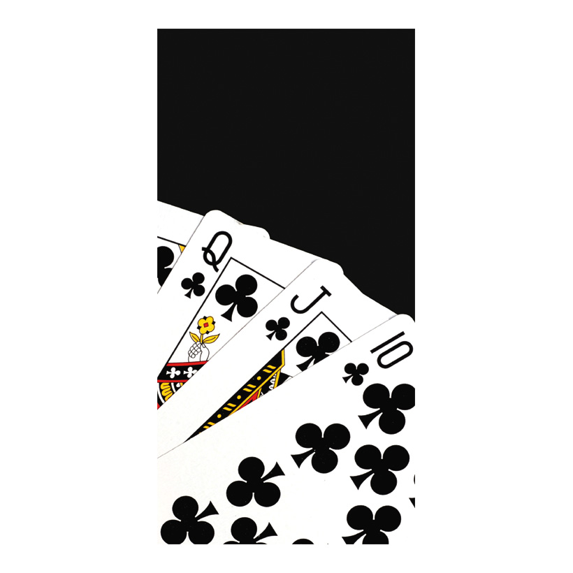 "# Motivdruck ""Kartenspiel"", 180x90cm Stoff"