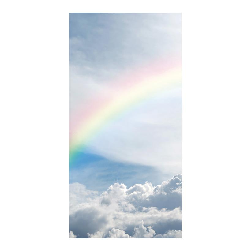 """# Motivdruck """"Regenbogen"""", 180x90cm Stoff"""