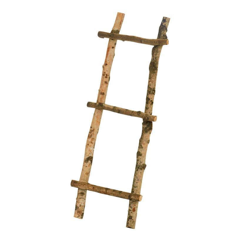 Leiter aus Birkenästen 80x30cm nur für Dekozwecke geeignet