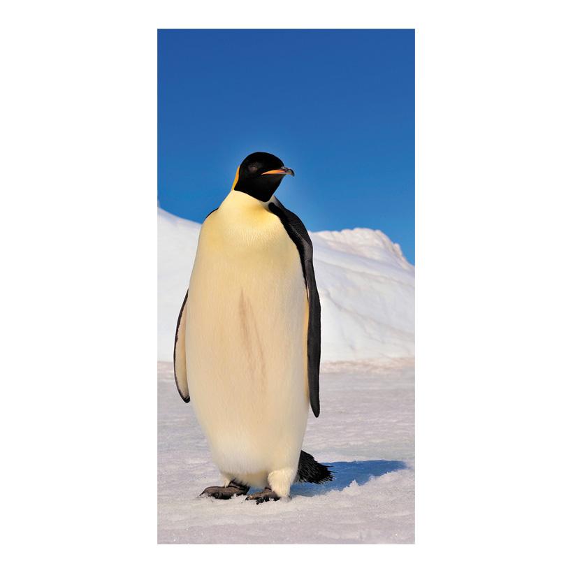 """# Motivdruck """"Pinguin"""", 180x90cm Papier"""
