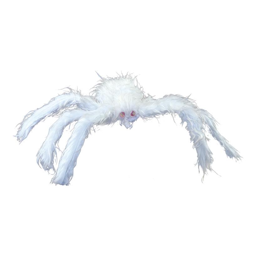 Spinne, Ø50cm selbststehend, aus Styropor & Kunstfell