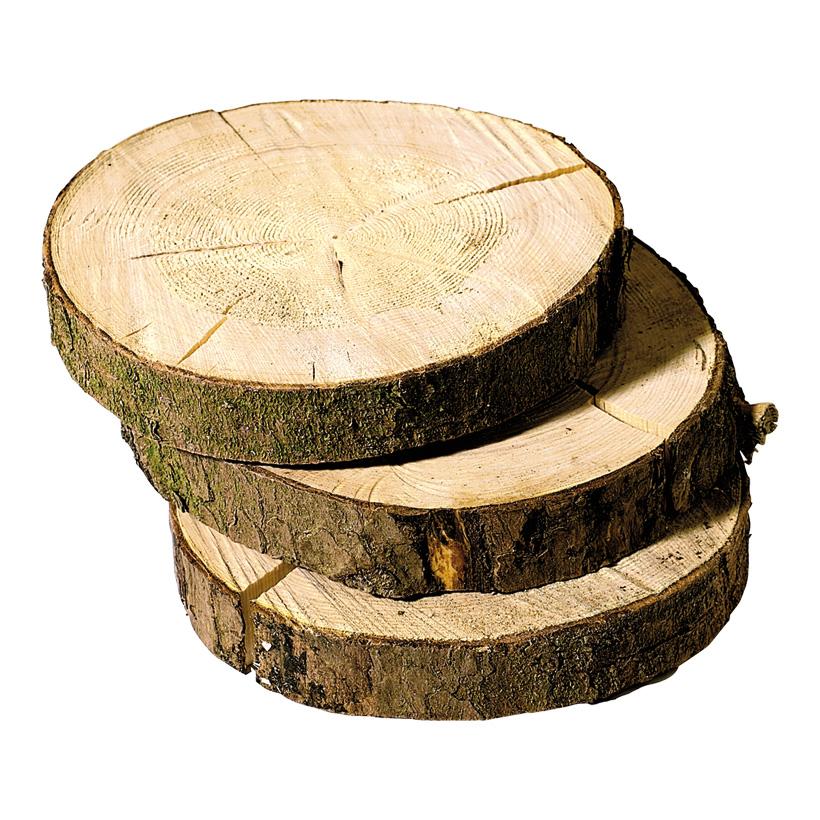 # Fichtenscheibe, Ø 20-30cm, Holz mit Rinde, 4cm dick