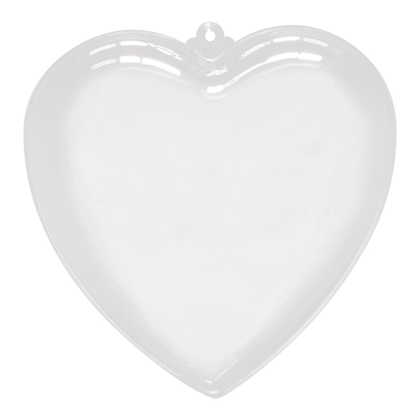 # Herz, Ø 14cm, Kunststoff, 2 Hälften, zum Befüllen