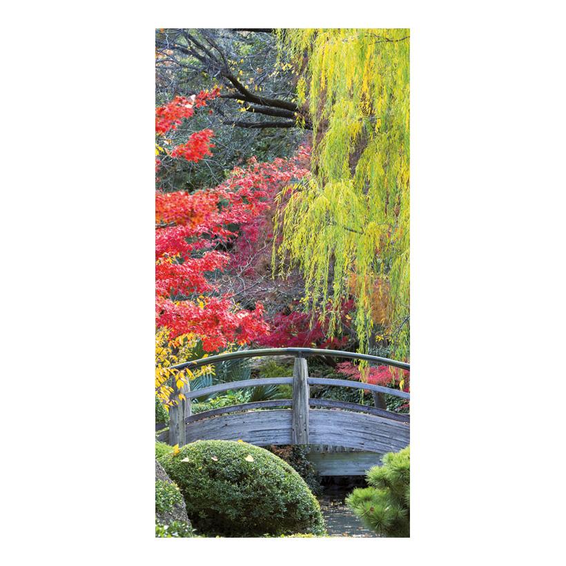 "# Motivdruck ""Herbst"", 180x90cm Stoff"
