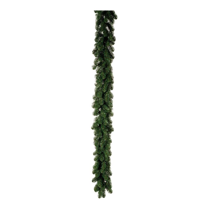 Edeltannengirlande, 270cm Ø 35cm Deluxe, mit 240 Tips, schwer entflammbar