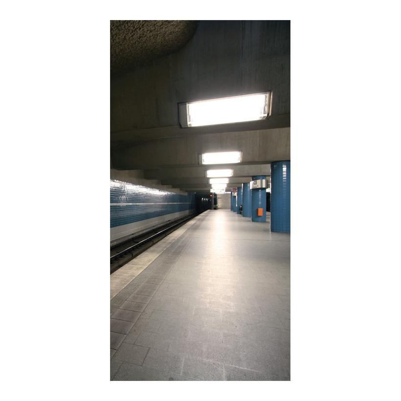 "# Motivdruck ""U-Bahn"", 180x90cm Stoff"