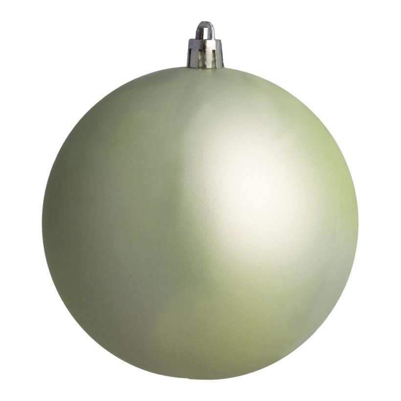Weihnachtskugel, mint matt, Ø 8cm, 6 St./Beutel