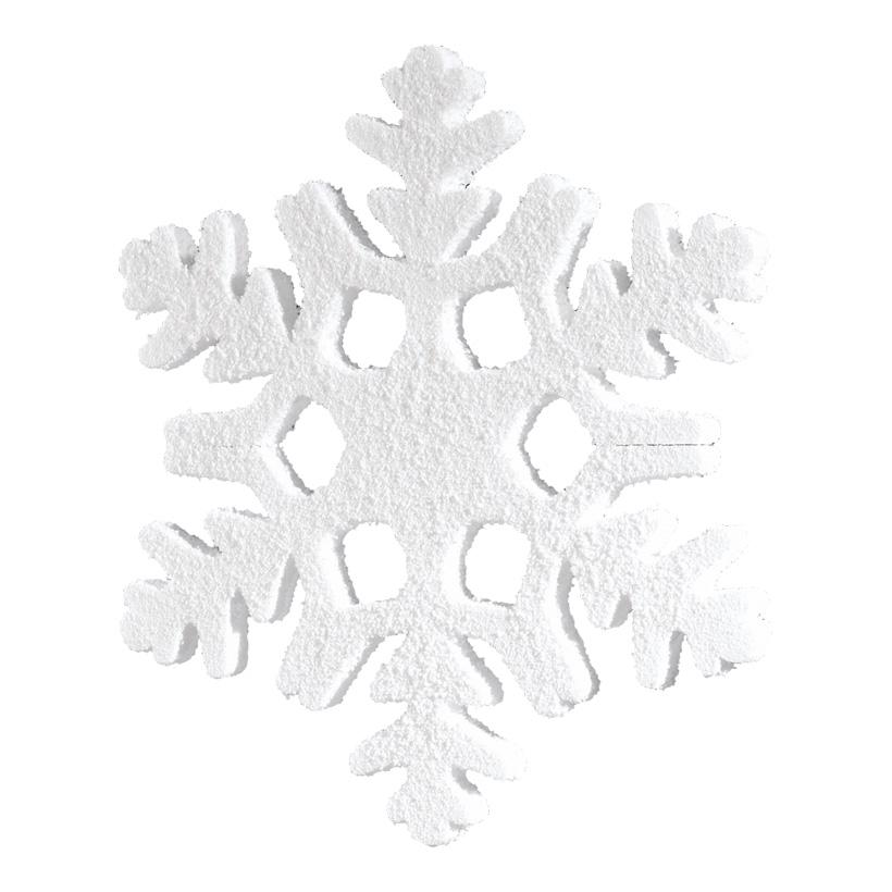 Schneeflocke, 50x50cm, Styrofoam