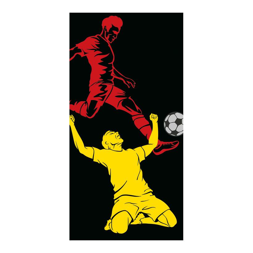 """# Banner Fußball """"4"""" 180x90cm einseitig bedruckt"""