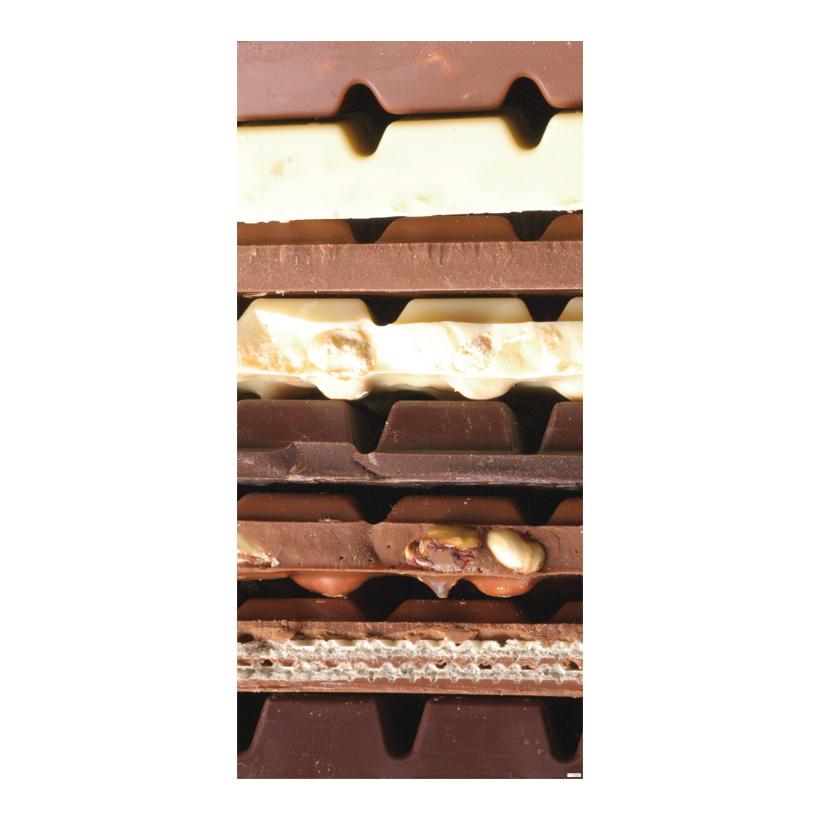 """# Motivdruck """"Schokolade"""", 180x90cm Stoff"""