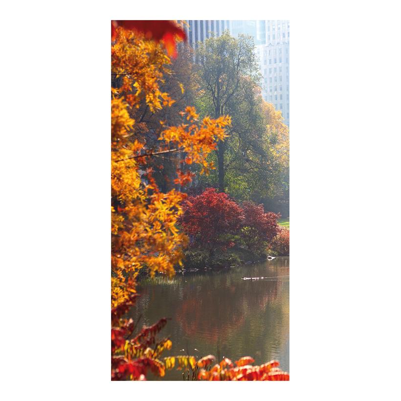 """# Motivdruck """"Herbst im Park"""", 180x90cm aus Stoff"""