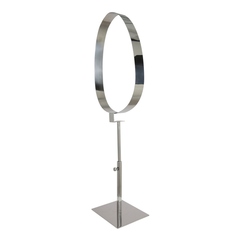 # Gürtelpräsenter, Metall, höhenverstellbar 52-63cm