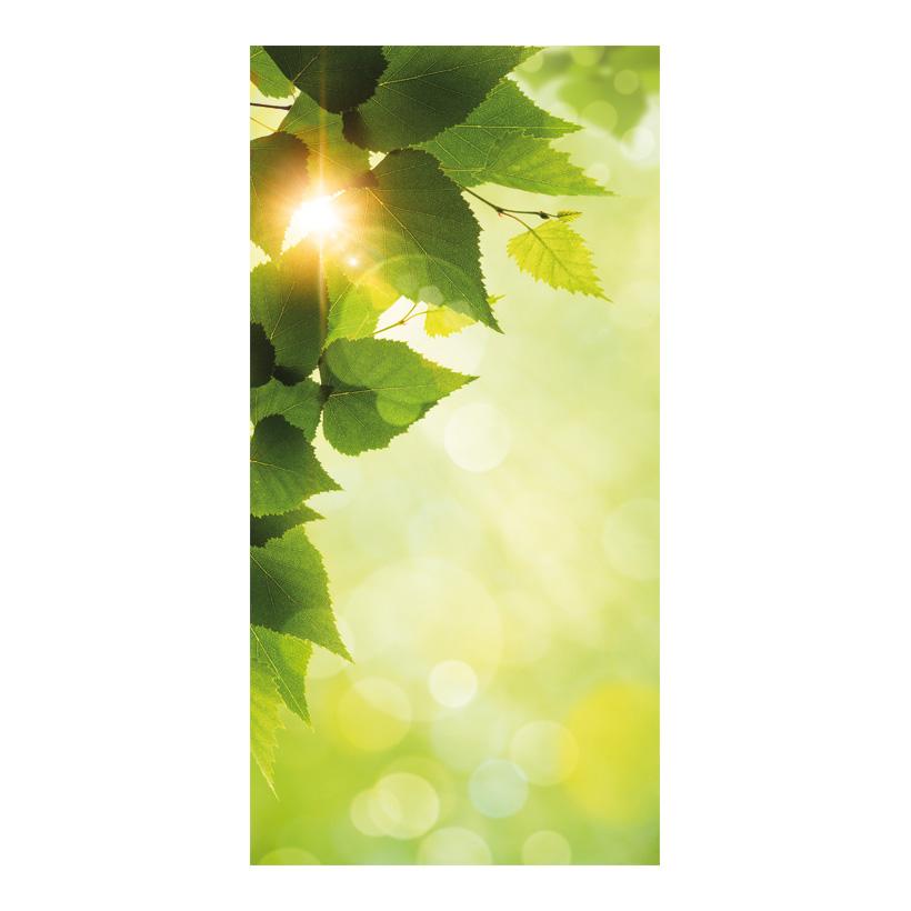 "# Motivdruck ""Frühlingssonne"", 180x90cm Stoff"