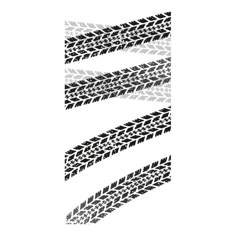 """# Motivdruck """"Reifenspuren"""", 180x90cm Papier"""
