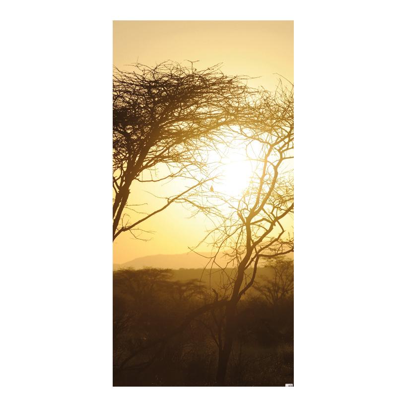 """# Motivdruck """"Afrika"""", 180x90cm Stoff"""