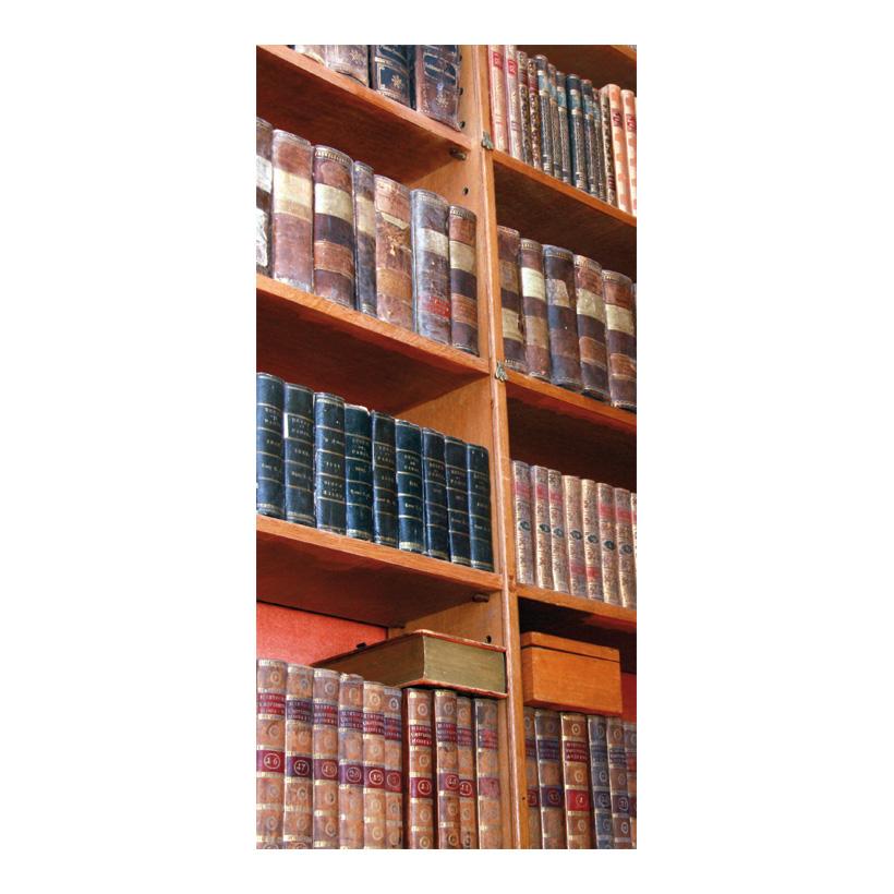 "# Motivdruck  ""Bücher"" 180x90cm Papier"