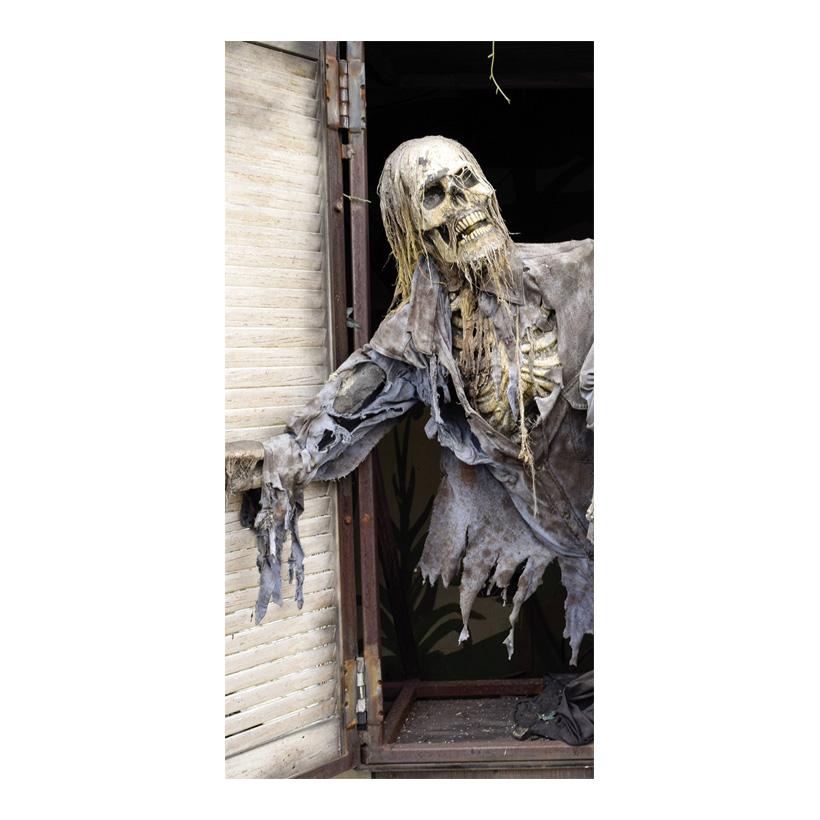 """# Motivdruck """"Skelett"""", 180x90cm Papier"""