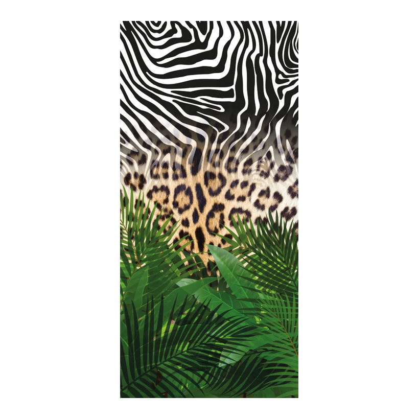 "# Motivdruck ""Animal Jungle"", 180x90cm Papier"