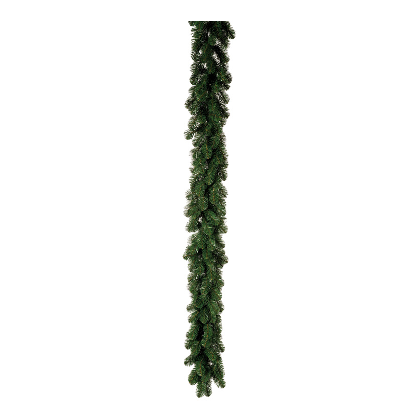 Edeltannengirlande, 270cm Ø 25cm Deluxe, mit 200 Tips, schwer entflammbar