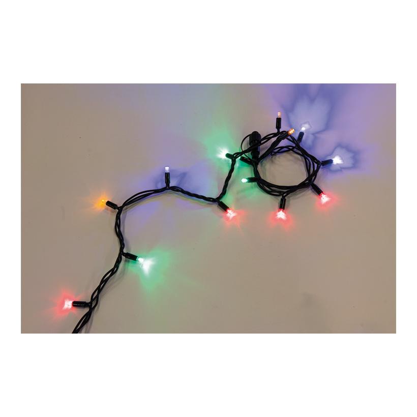 Gummi-Lichterkette mit 100 LEDs, 1000cm koppelbar, 220-240V, ohne Zuleitung & Stecker