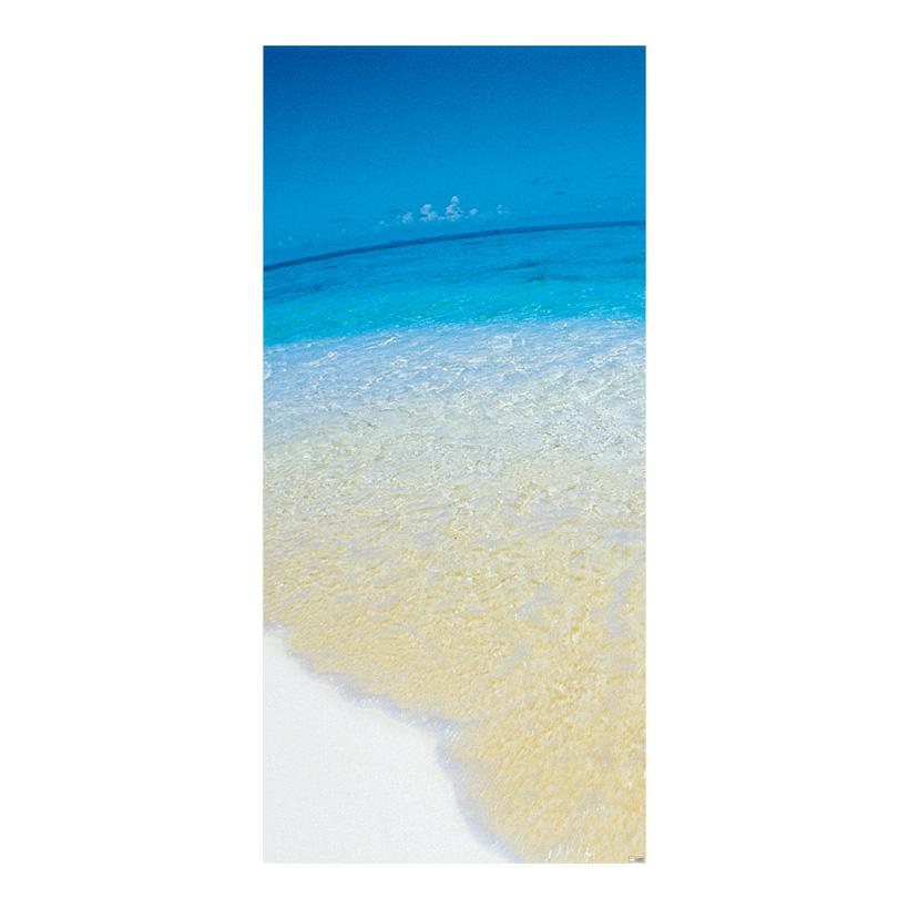 """# Motivdruck """"Meeresstrand"""", 180x90cm Papier"""