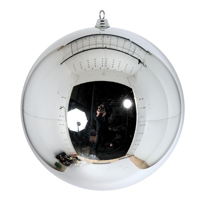 XXL-Weihnachtskugel, Ø 60cm glänzend, aus Kunststoff