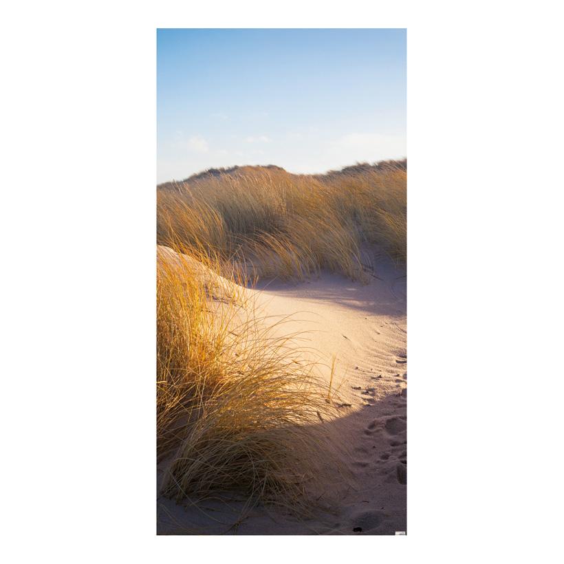 "# Motivdruck ""Meeresdünen"", 180x90cm Papier"