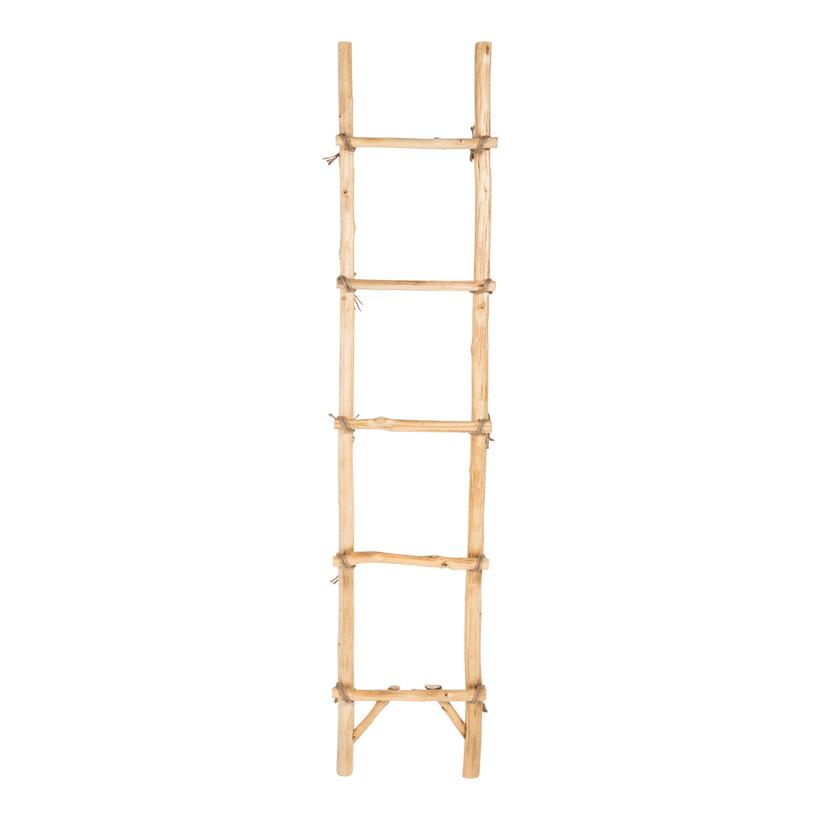 Holzleiter, 180x40cm mit 5 Sprossen