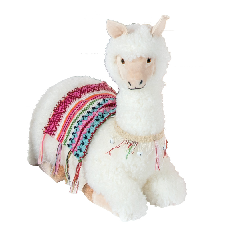 Lama, 45cm liegend